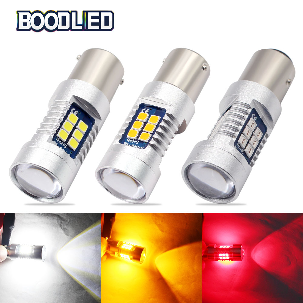 Led Auto Lights >> Us 9 89 34 Off 2x P21w Led Car 1156 Ba15s P21w Led Bau15s Py21w Bay15d Led Bulb 1157 P21 5w R5w 3030 Smd Light Bulbs For Auto Reverse Lights In
