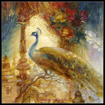 Needlework for embroidery DIY DMC High Quality - Counted Cross Stitch Kits 14 ct Oil painting - Melodies of the East