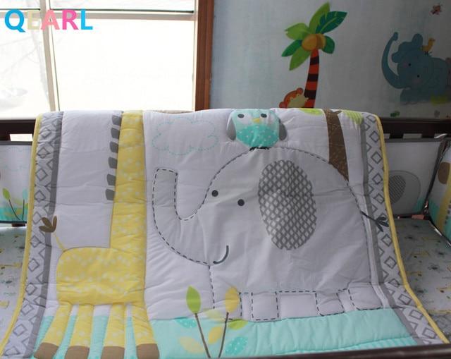 Elephant Girafe Bebe Ensemble De Literie Lit Bebe Ensemble De