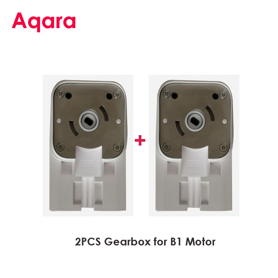 2pcs High Quality Gearbox/Driving Housing Box Fit Xiaomi Aqara B1 Motor,only For Dooya Somfy Rails