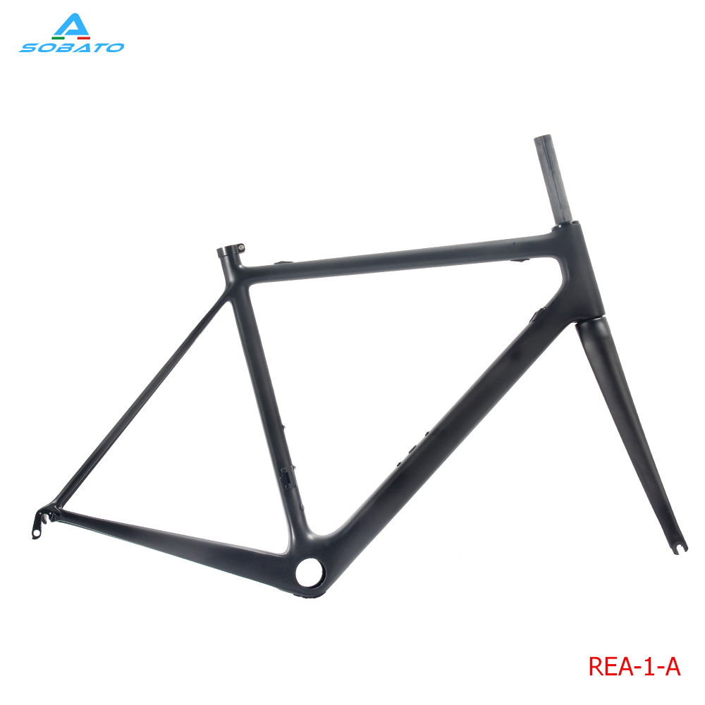 Fast delievery  2017 Carbon Road Frame carbon fiber bicycle frameset T1000 carbon bike frames bsa bb30 cadre carbone 780g
