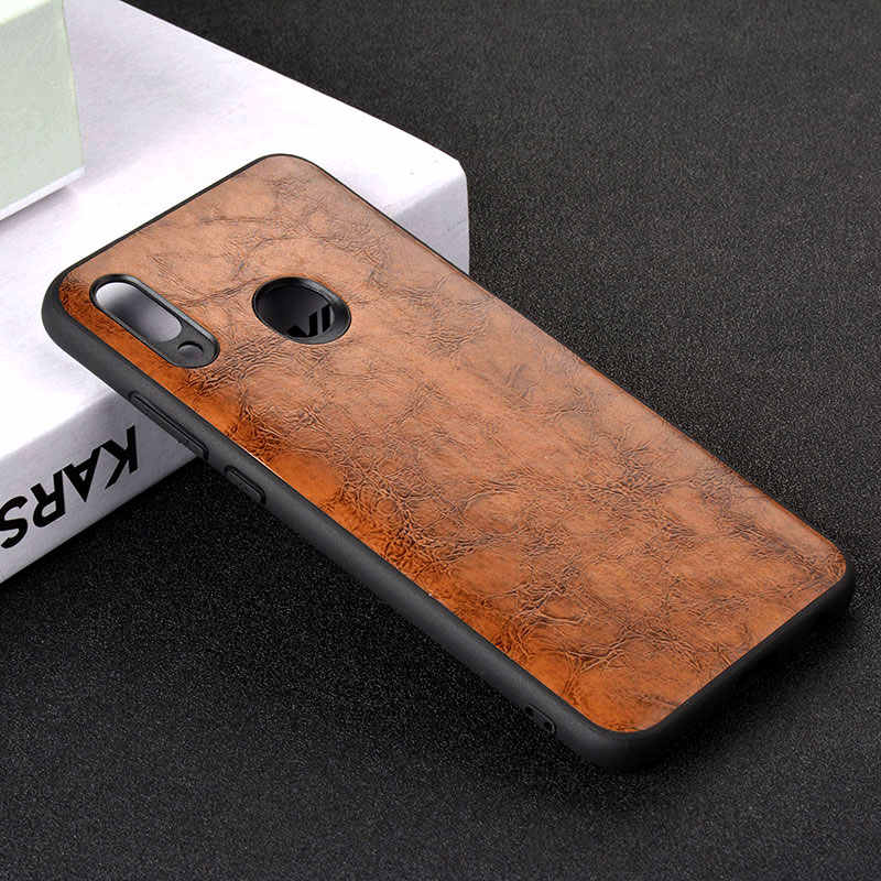 case for huawei honor 10 lite luxury Vintage Leather skin capa cover fashion phone for huawei honor 10 lite case funda coque