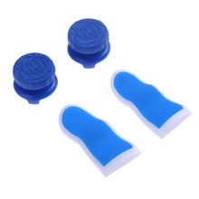 4Pcs Set Silicone L2 R2 Trigger Extenders Buttons Thumbstick Caps Kit for PS4 High Quality Controller
