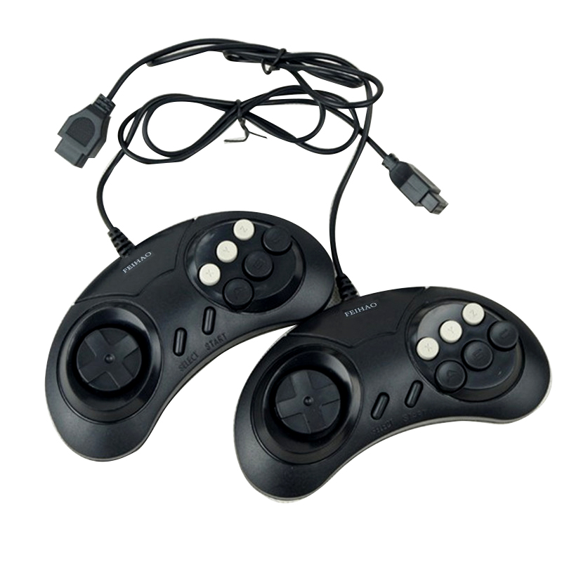 Handheld TV Video Game Console with Double Gamepads and Card Slot Supports AV Output 4