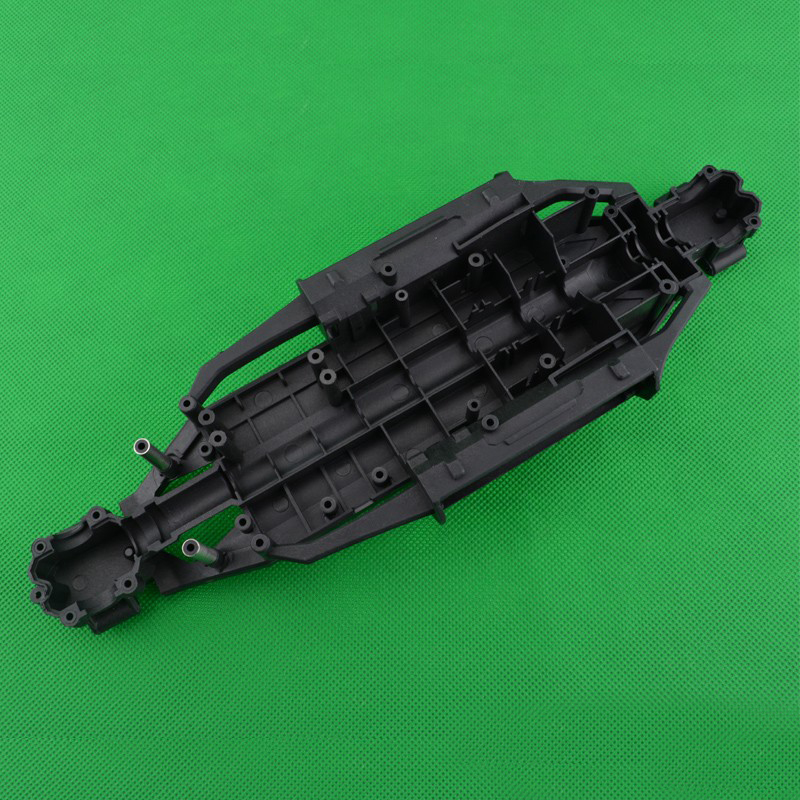 1PC HBX <font><b>1/12</b></font> Four-<font><b>wheel</b></font> Drive Car Chassis Bottom Plastic Body Chassis Kit for 1:12 12811B 12812 12813 <font><b>RC</b></font> Cars Spare Parts image