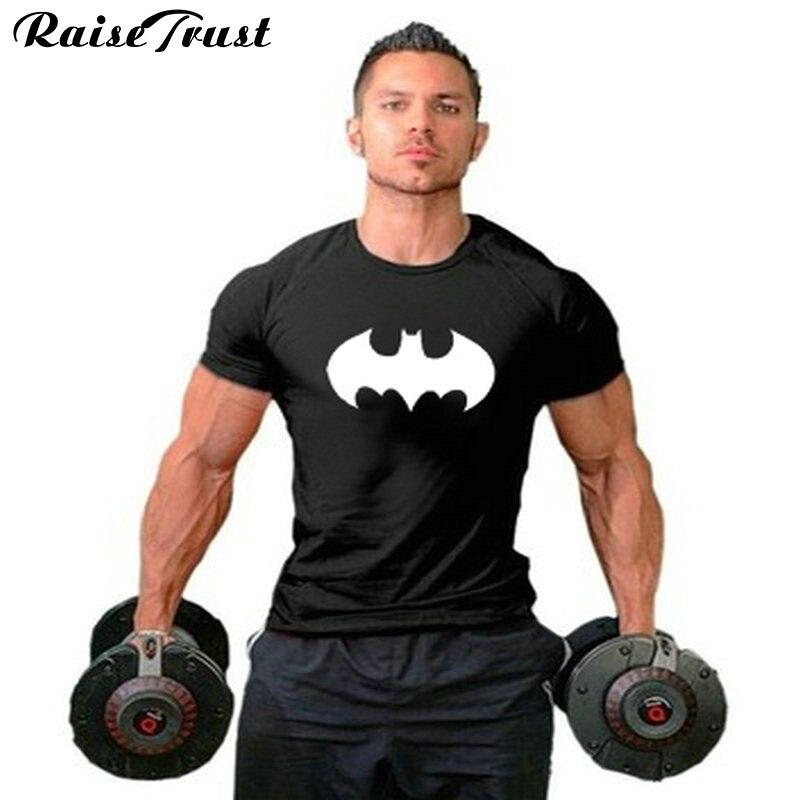 f68ed279e829d Nouveau Hommes GYMNASES T-Shirt Coton à Manches courtes Vêtements de ...