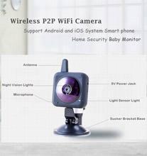Baby Monitor wifi Wireless camera battery powered Infrared Wifi Camera Digital Camera bebe wifi webcam Video Monitoring Camera