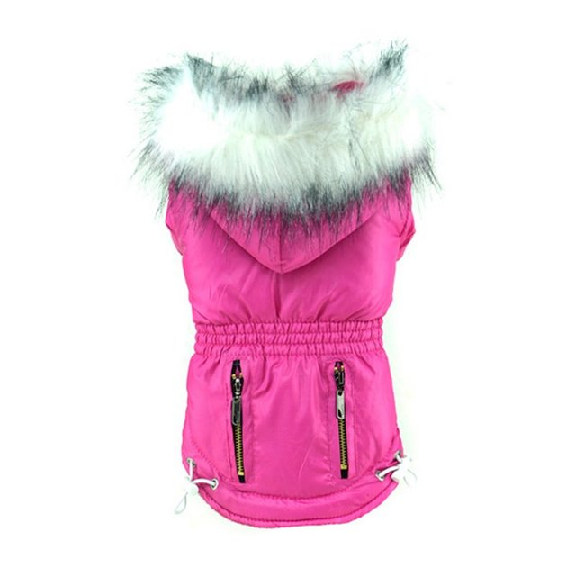 Warm Winter Hoodie Zip Pockets 4
