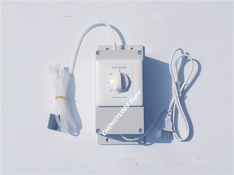 500mg/h 8W 220V Ozone generator With timer Oxygen purification and disinfection