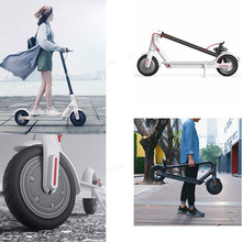 Original xiaomi mi scooter electric 12.5kg weight steering-wheel 2 two wheel hoverboard skateboard