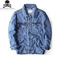 2016 Autumn High Quality FEAR OF GOD FOG Justin Bieber Jeans Denim Jacket Coat Pocket Hip Hop Kanye Outerwear Men Women Clothing