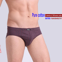 5 Pieces Boxed All Cotton Underwear Ultra Large Size Men S Briefs Male 5 Colors Underpants