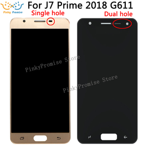 Image 1 - ЖК дисплей G611 для Samsung Galaxy J7 Prime 2 2018 G611, дигитайзер сенсорного экрана в сборе, сменная часть для G611 G611FF/DS