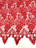 SexeMara French Lace Fabric High Class African Laces Fabric Double Beautiful Embroidery Lace Trim For Sewing
