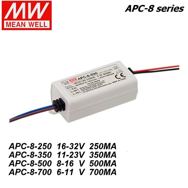Aliexpress.com : Buy Mean Well APC 8 250/350/500/700mA 8W