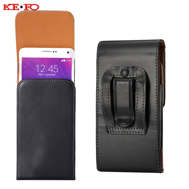 Universal Sport Outdooor Flip Leather Belt Buckle Clip Holster for Lenovo S8 S898T 5.5 Case Cover Phone Pouch