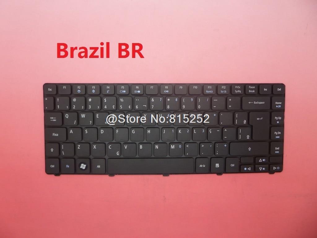 Laptop Keyboard For Acer Aspire 4235 4240 4250 4251 4252 4253 4752 4752g 4752z 4752zg 4743 4333 Brazil Br