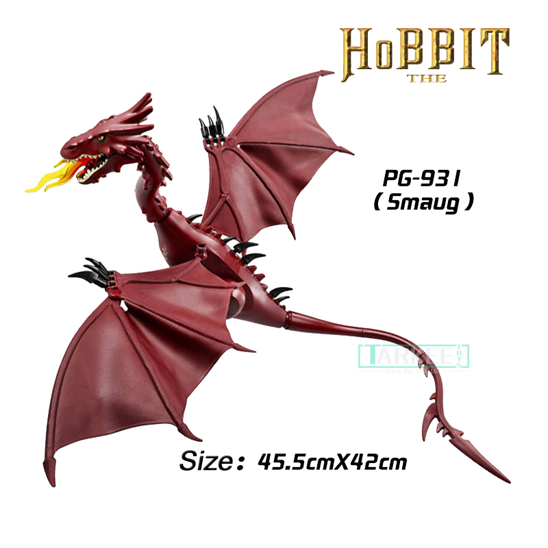 1pc The Hobbit Desolation of Smaug The Lonely Mountain Dol Guldor Battle Building Blocks Education Gift Toys for Children PG931 wange mechanical application of the crown gear model building blocks for children the pulley scientific learning education toys