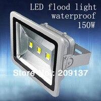 Gratis Verzending 150 W led schijnwerper  led flood verlichting  led schijnwerper 85 V 265 V AC of 12 V DC-in Schijnwerpers van Licht & verlichting op