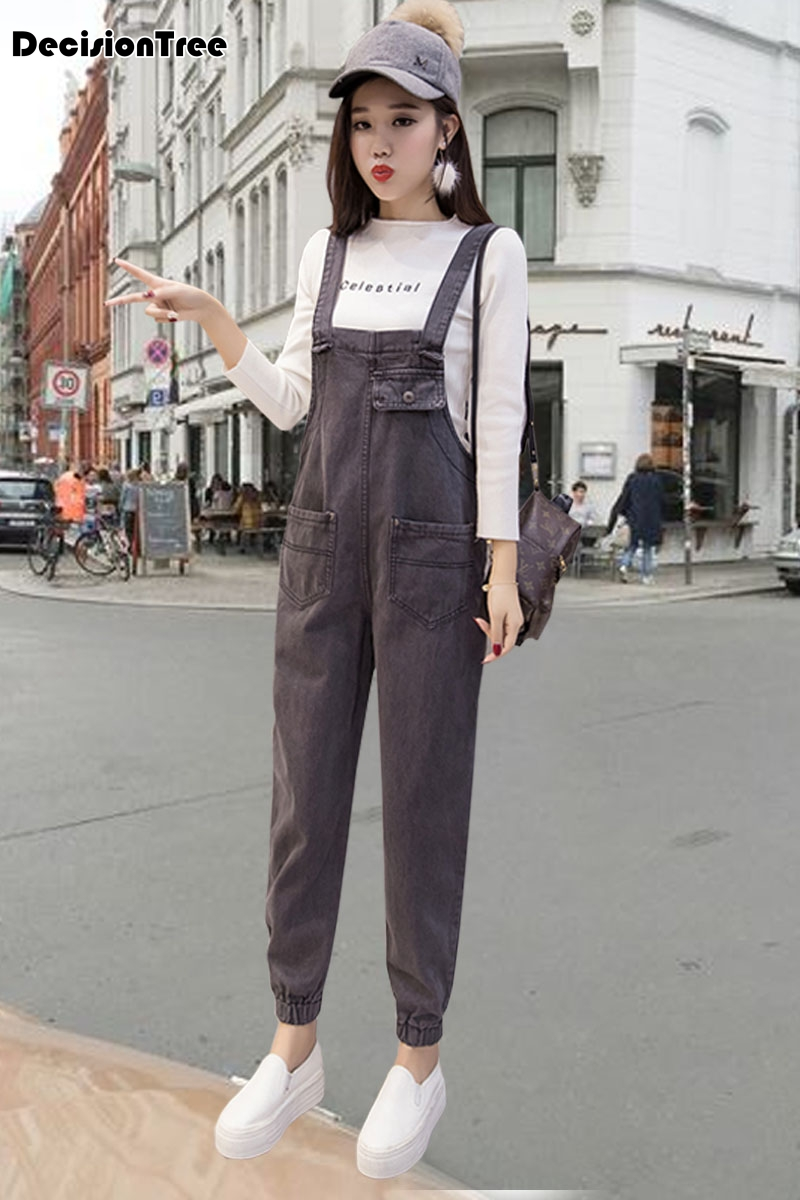 2019 new womens bodycon jumpsuit jeans denim rompers bib overalls trousers pants 6