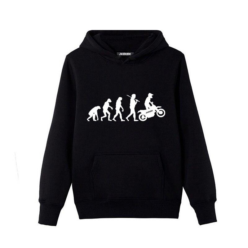 2018 Hohe Qualität Männer Fleece Hoodies Motorrad Ape Zu Evolution Sweatshirt Pullover Mit Kapuze Herren Trainings Moleton Masculino