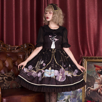 Princess sweet lolita dress Brocade garden old dream dress autumn and winter Retro love JSK sling fashion women dress ZJY140