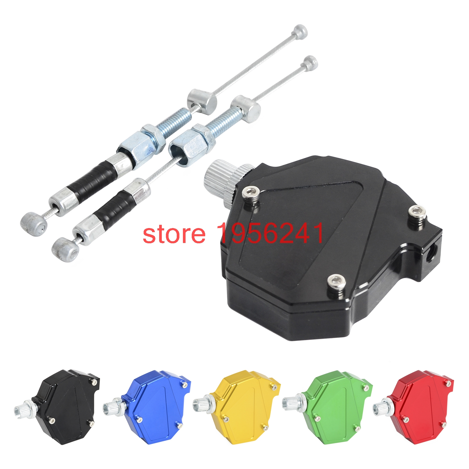 CNC Stunt Kupplung Einfach Ziehen Kabel System Für Yamaha YZ85 YZ125 YZ250 YZ250F YZ450F TTR250 WR250R WR250X WR250F WR450F