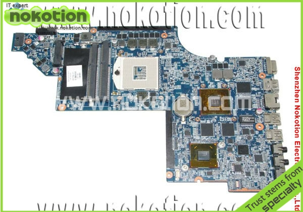 NOKOTION 650799-001 laptop motherboard for HP Pavillion DV6 DV6-6000 motherboard Intel HM65 Mainboard graphics DDR3