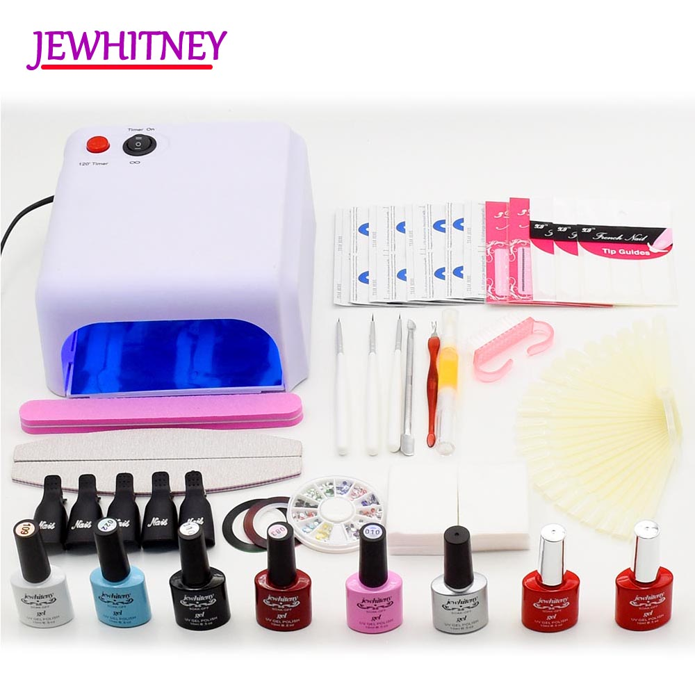 Best Quality Professional Nail Art Set Kit With Manicure Pedicure