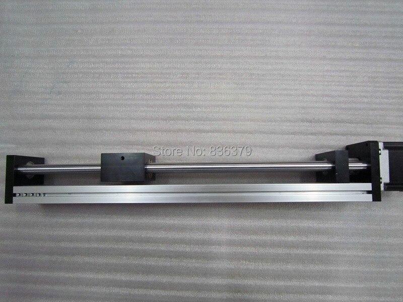 T8 * 8 T-type Screw Linear Slide Stage X Y Z Axis Sliding Table Module Effective Stroke 500mm+57 Nema23 Stepper Motor цена