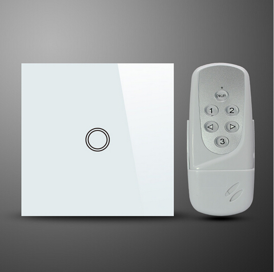 1 Pandilla REINO estándar blanco negro RF433 inalámbrica doméstica inteligente i