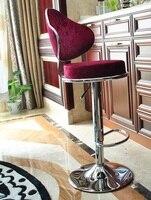 Thuis bar stoel Familie party kruk lifting restaurant rood blauw rose stoel gratis verzending