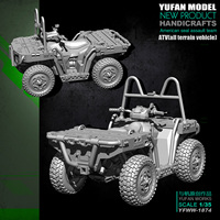DIY 1/35 ATV Terrain Car Resin Car MODEL YFWW 1874