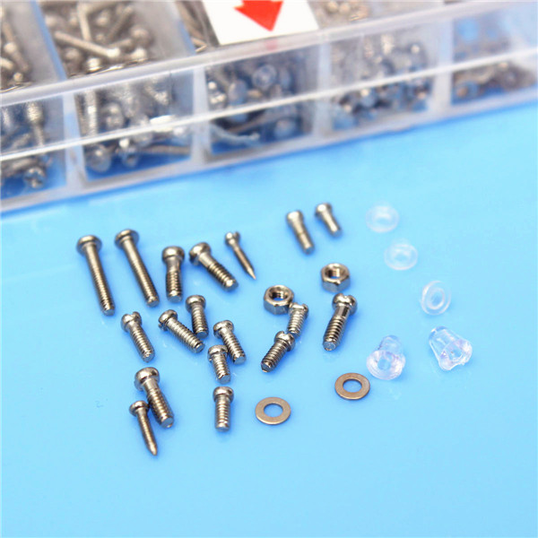 New Arrival 18 Specifications Glasses Screw Clock Sunglass Spectacles Tiny Screws Nut Repai High Quality golden color accessory screw spare parts shenzhen cnc machine