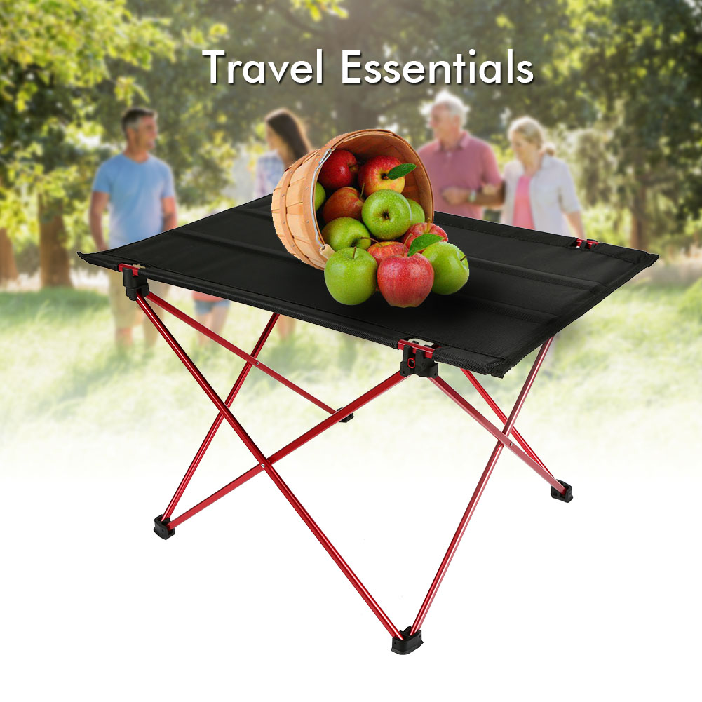 Aluminium Alloy Waterproof Outdoor Foldable Table Ultra-light Durable Desk For Picnic Camping @LS ultralight aluminium alloy camping mats
