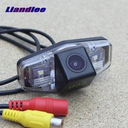Liandleee מצלמה חנייה לרכב עבור הונדה סיוויק 2001 ~ 2014/היפוך לגבות מצלמה אחורית/HD CCD ראיית הלילה