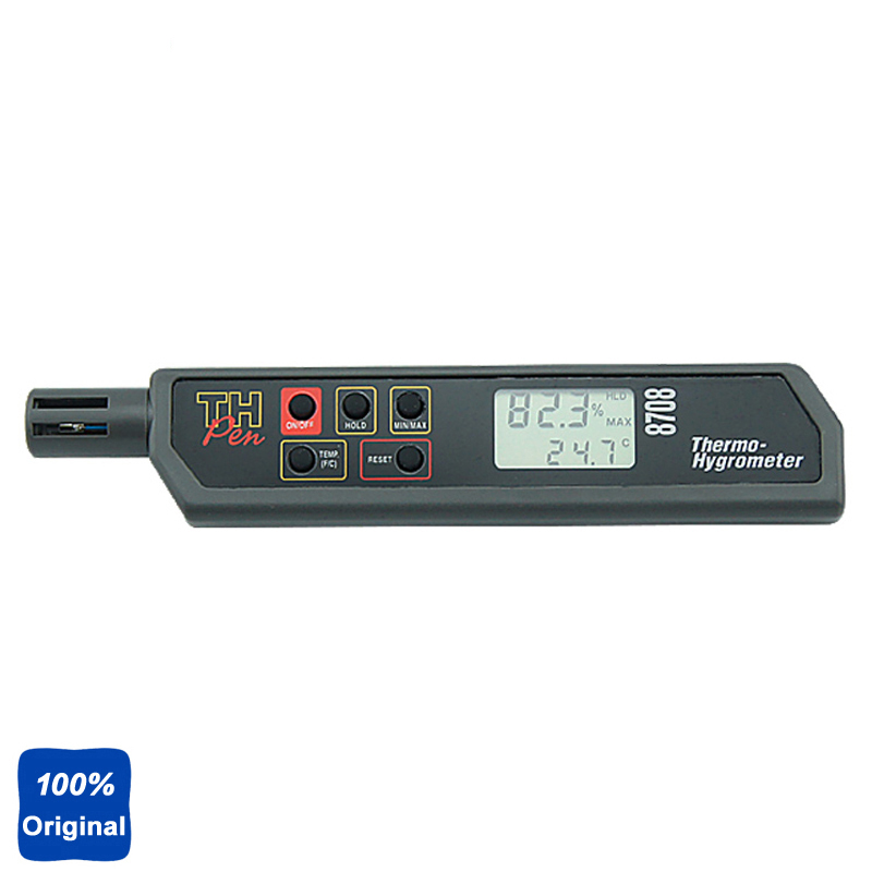 AZ8708 Pen Type Hygro-thermometer Temperature and Humidity Tester tpi 306c 40 150 pen type digital thermometer