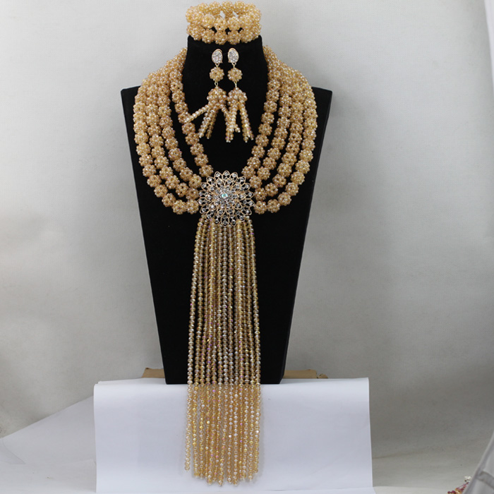Trendy  Lovely France African Fashion Women Beads Jewelry Set Luxury Jewelry Necklace Bracelet Jewelry Sets Free shippingABL696Trendy  Lovely France African Fashion Women Beads Jewelry Set Luxury Jewelry Necklace Bracelet Jewelry Sets Free shippingABL696