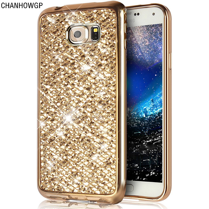 fashion glitter bling case for samsung galaxy s7 edge s6 s5 neo s4 mini s8 plus a3 a5 2017 j7. Black Bedroom Furniture Sets. Home Design Ideas