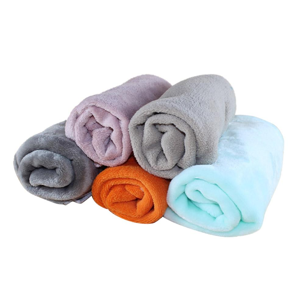 Pet Blanket Dog Blanket Super Soft Warm Coral Velvet Kennel Mat Cat And Dog Blanket