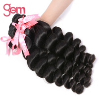 Gem Beauty Supply Brazilian Remy Hair Loose Wave 1 Piece Only 100 Human Hair Weave Bundles