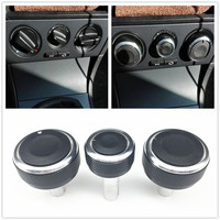 Botão para ar condicionado automotivo  botão de controle de calor para ar condicionado skoda superb octavia mk1 ac botão automático acessórios