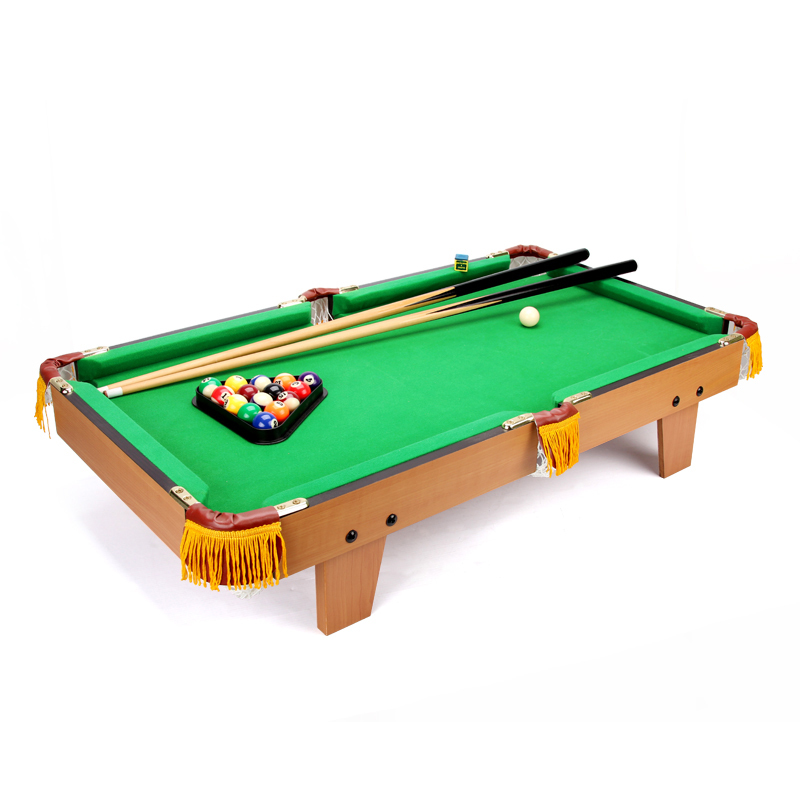 Mini wooden billiard table america poo table toy pool for children table top miniature pool table 36 multi function 4 in 1game table top kids toy table 4 different game soccer table tennis air hockey pool