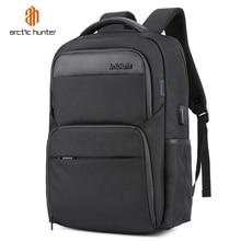 , Odporna na wstrząsy męskie USB do ładowania Anti Theft plecaki wodoodporna 15.6 cal czarny mężczyzna Laptop plecaki wielofunkcyjne torby podróżne