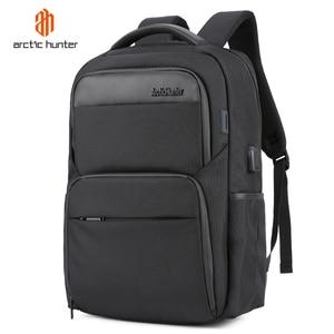 Image 1 - Shockproof Mens USB Charging Anti Theft Backpacks Waterproof 15.6 inch Black Male Laptop Bagpacks Multifunction Travel Bags