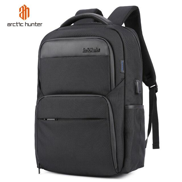 Shockproof Mens USB Charging Anti Theft Backpacks Waterproof 15.6 inch Black Male Laptop Bagpacks Multifunction Travel Bags