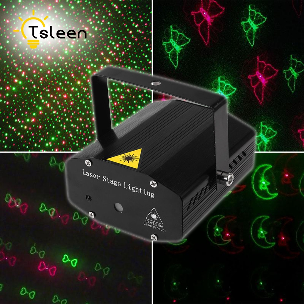aliexpress com buy tsleen portable mini led red green star laser