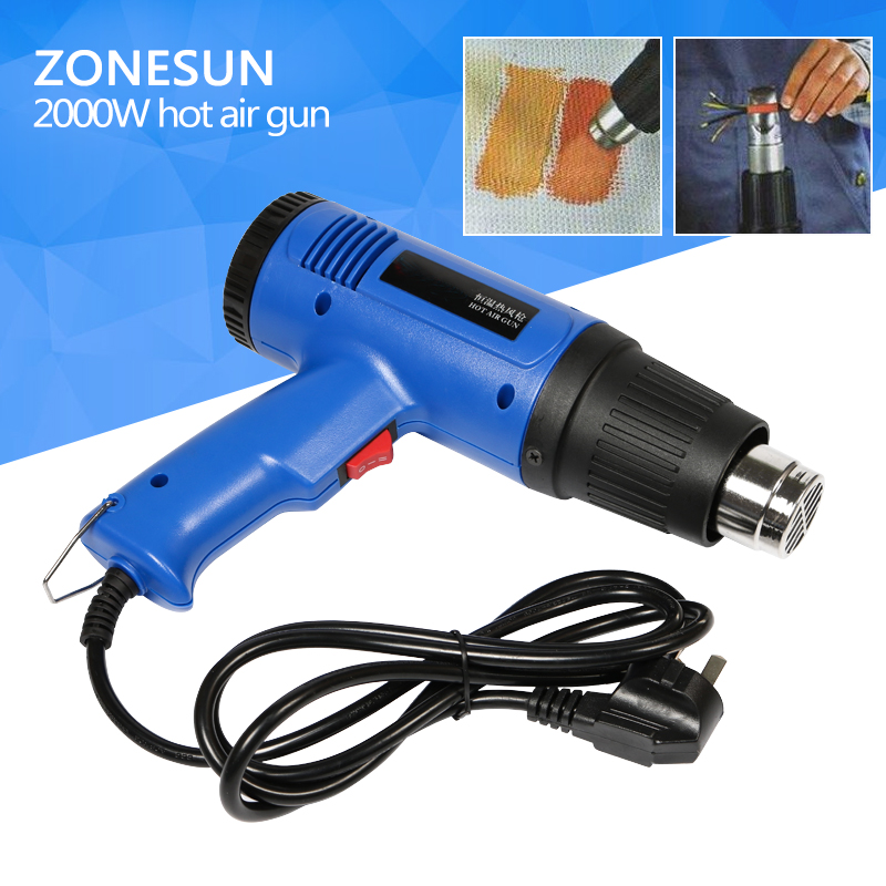 Hot Sale!!!Stock 1800W Hot Air Gun Electronic Heat Hand-Hold 2-SPEED Modes Tool+Free Exchange Plug professional heater tool hot sale professional diesel engine timing setting tool for vag 2 7
