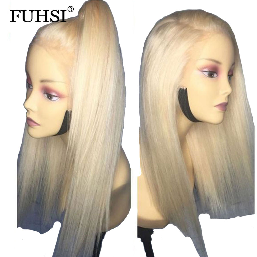 613 Honey Blonde Lace Front Wig Pre Plucked With Baby Hair Transparent 613 Glueless Lace Front Wig For Black Women Remy Hair Human Hair Weaves Hair Extensions & Wigs
