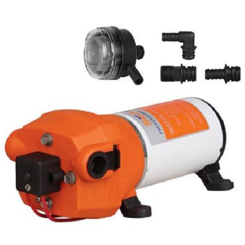 Seaflo 12V WATER PRESSURE DIAPHRAGM PUMP 4.5GPM 17 L/MIN 40 PSI Caravan/RV/Boat/Marine water pump seaflo 35psi 12 5 lpm electric self priming diaphragm pump 12v water pumps caravan
